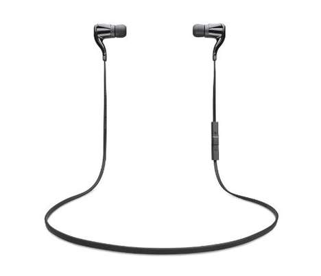 Tethered Wireless Earbuds - These Bluetooth Headphones are Wirelessly Connected But Linked Together