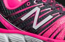 Cancer-Fighting Running Shoes - These Vibrant Pink Sneakers Support Brest Cancer Research