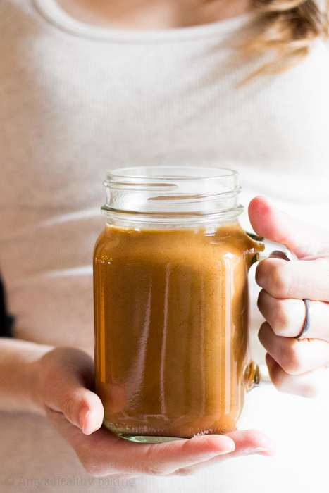 Calorie-Conscious Pumpkin Lattes - This Skinny Latte Version Offers a Healthy Pumpkin Spice Drink