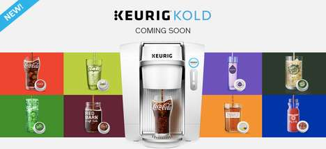 Chilled Beverage Brewers (UPDATE) - The Keurig KOLD System Expands from Sodas to Cold Brew Blends