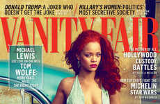 Cuba is the Backdrop for Rihanna's Vanity Fair November Spread