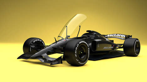 Realistic Race Car Concepts - These Formula 1 Concept Cars Could Be Implemented in the Future
