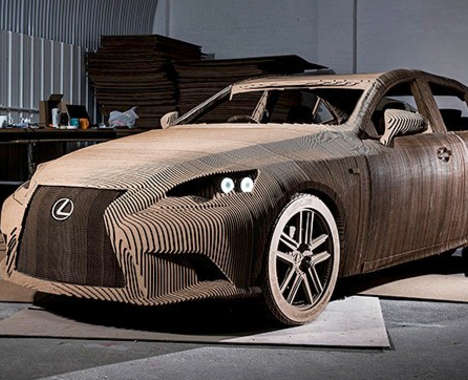 Drivable Cardboard Cars