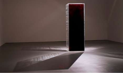 Blood-Based Art Installations - This Provocative Exhibit is Designed to Highlight LGBT Issues