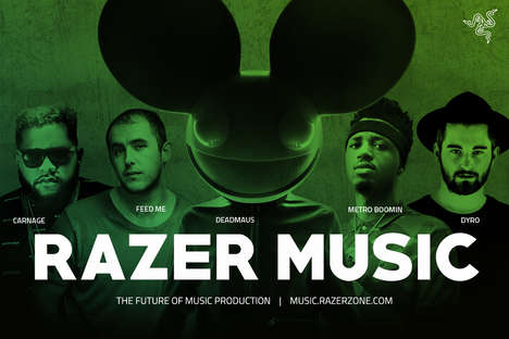 Aspiring Music Production Platforms - Razer Music Lets Amateur and Celebrity Artists Share Tips