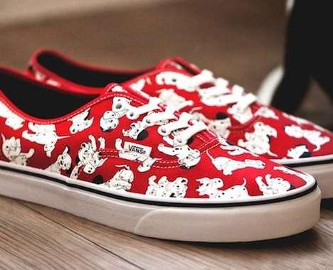 Cartoon Streetwear Sneakers