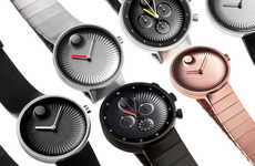 Non-Numerical Timepieces