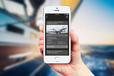 Private Jet Service Apps - JetSmarter is an Uber for Private Jets That Lets Users Book Fast Flights