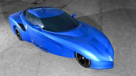 Peculiar Auto Concepts - The DeltaWing GT Offers Spectacular Fuel Economy