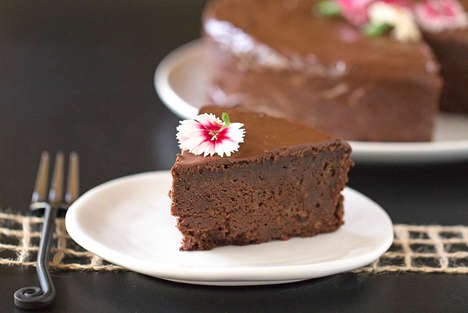 Earthy Chocolate Cakes - Chocolate Beet Cake Satisfies the Sweet Tooth and Offers Healthy Attributes