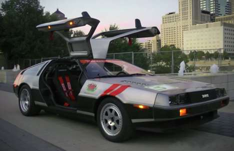 Modified Retro Sports Cars - This Custom Racing DeLorean is Impressive But Can't Time Travel