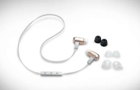 Quality Bluetooth Headphones - The Optoma NuForce BE6 Earphones Offer High Sound Quality