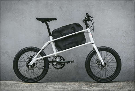 Briefcase-Holding Commuter Bikes - The Quinn Bike Has a Central Cargo Compartment for Easy Balancing