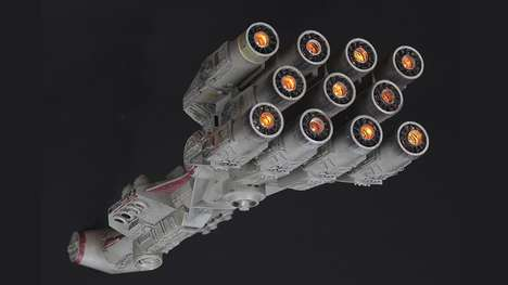 Sci-Fi Ship Auctions - This Filming Miniature of the Blockade Runner Sold For $450,000