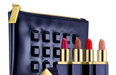 Pout-Sculpting Lipsticks - The Estee Launder Be Envied Holiday Collection Features Bold Hues