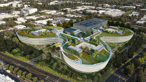 Silicon Valley Campuses - Apple's 'Central and Wolfe' Campus Will Offer Space For 3,000 Employees