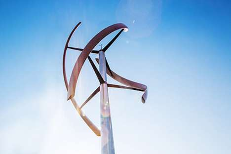 Smart Wind Turbines - This Redesigned Wind Turbine is Highly Functional and Beautifully Designed