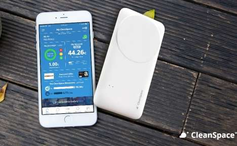 Personal Pollution-Tracking Devices - This Gadget Delivers Air Quality Readings to a Smartphone App