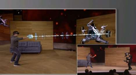 Wearable Hologram Games - Microsoft's Project X-Ray is the Future of Immersive Gaming