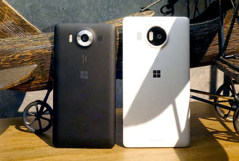 Ultra-Rapid Smartphones - The Lumia 950 Blends Speedy Functioning With Slick Design