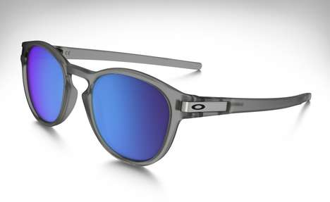 Clippable Sports Sunglasses - The Oakley Latch Has a Built-in Clip That Attaches to Your Shirt