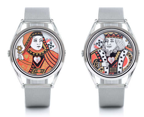 Playing Card Timepieces
