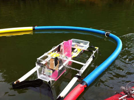 Aqatic Trash-Tracking Devices - This Optical Sensor Scans the Ocean for Pollutants
