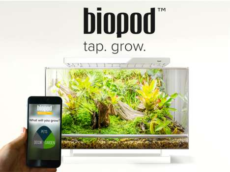 App-Controlled Microhabitats - This Artificial Habitat Allows Consumers to Replicate the Rainforest