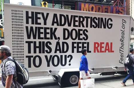 Outdoor Ad-Testing Campaigns - This Campaign Highlights the Problems of Digital Engagement Ads