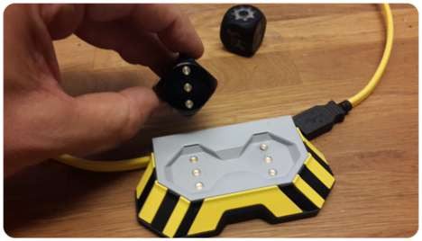 Self Rolling Dice - Boogie Dice are Both Self-Rolling and Activated by Sound