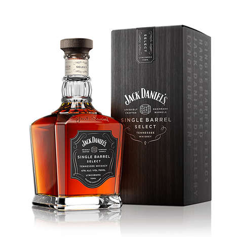 Glassware Whiskey Branding - The New Jack Daniel's Single Barrel Whiskey Bottle is Meant to Be Seen