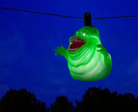 Sliding Ghoulish Lights