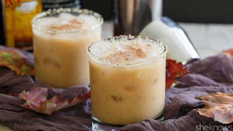 Autumnal Latte Cocktails - This White Russian Recipe Revamps Pumpkin Spice Drinks with Alcohol