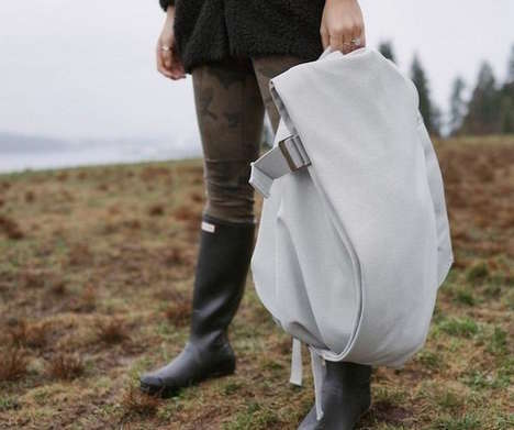 Post-Modern Knapsacks - Isar Laptop Rucksack by Côte&Ciel Puts a New Twist on a Classic Design