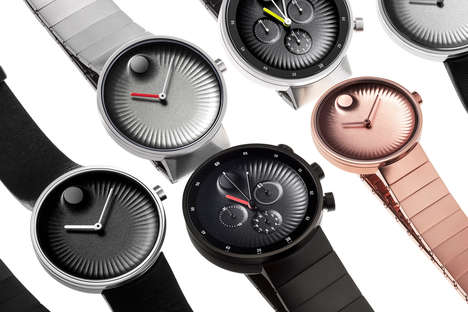 Sophisticatedly Scalloped Timepieces - The Movado Edge is Designed to Precision by Yves Behar