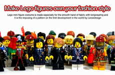 Miniature LEGO Fashion - The Leesedesign MiniClothes Offer Intricate Ensembles for Figurines