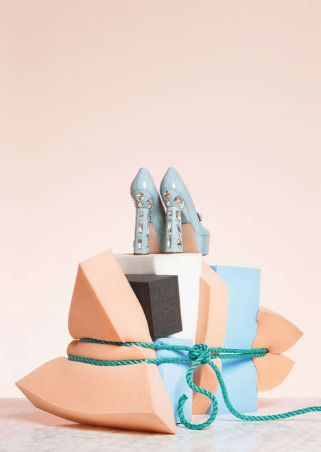 Fashionable Art Photos - This Still Life Art Photoseries Mixes High Fashion with Everyday Objects