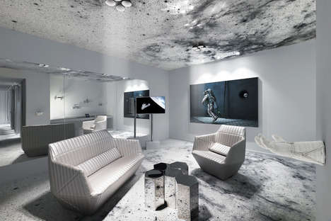 Galactic Hotel Rooms - The 'Space Suite' Hotel Room was Inspired by NASA & Outer Space Exploration