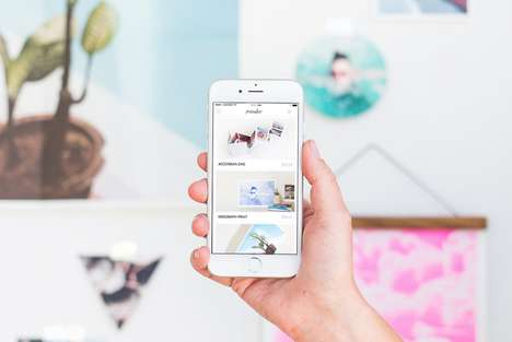 Creative Photo-Printing Apps - The 'Parabo Press' App Adds an Artistic Touch to Digital Prints
