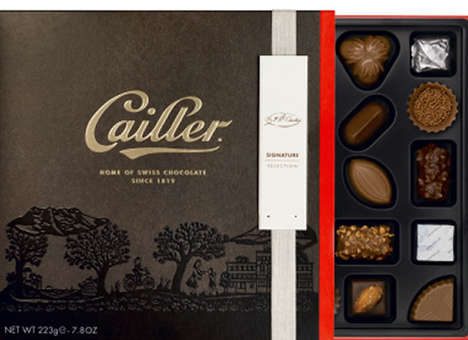 Decadent Swiss Chocolate Bars - Nestle's High-End Brand 'Cailler' Will Soon Be Available to Everyone