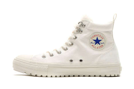Winter-Ready Canvas Shoes - These Converse Boots Keep Sneaker Lovers in All Stars Year-Round