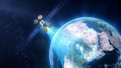 Internet-Beaming Satellites - The Facebook Satellite Will Bring Internet Access to Africa