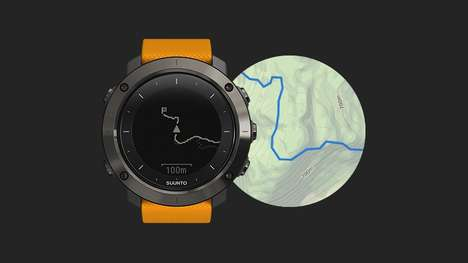 Amateur Adventurer Watches - The Suunto Traverse is Designed For Casual Hikers and Adventurists