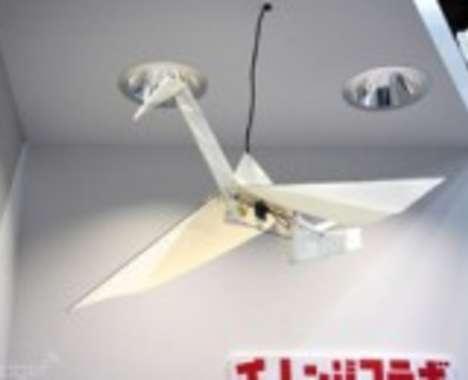 Flying Paper Cranes