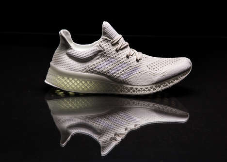 Footprint-Customized Soles - The Adidas 3D-Printed Custom-Fit Shoe is Based on One's Footprints
