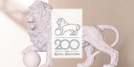 Bicentennial Brand Celebrations - The Royal Doulton 200th Anniversary Campaign is Digitally Powered