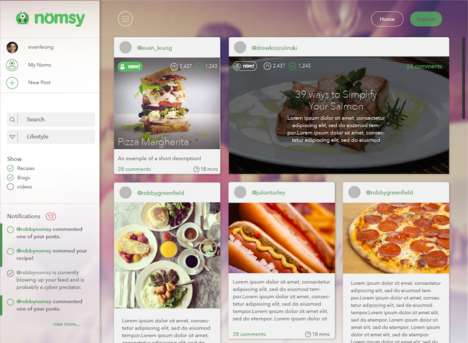 Lifestyle-Specific Food Apps - This Food Discovery Platform Relies on Social Data to Inform Users