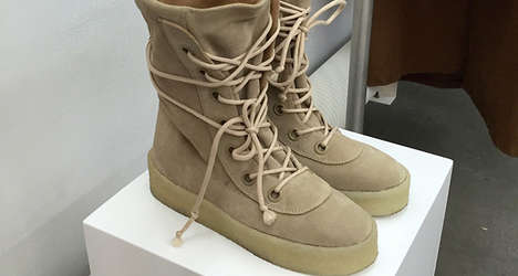 Industrial Couture Boots - Kanye's adidas Yeezy Duck Boot Has a Rugged While Fashion-Forward Look