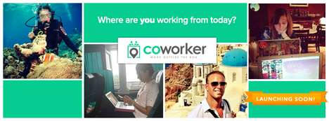 Workspace-Finding Apps - This Program Helps Users Find and Review Co-Working Spaces