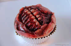 Gruesome Grinning Cupcakes